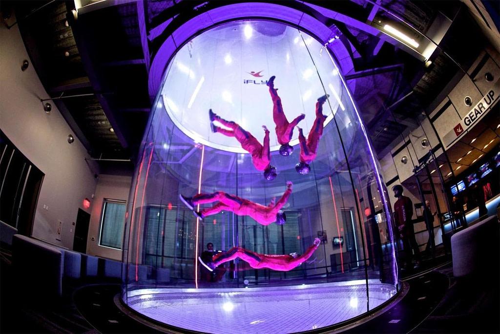 Indoor Sky Diving in Dubai by VisaDekho