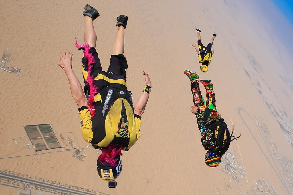 Dubai Sky Diving, Sky Diving in Dubai