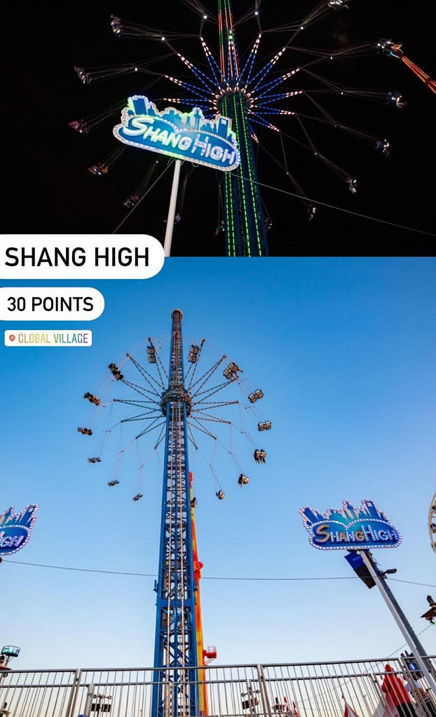 Shang High Carnaval Ride at Global Village in Dubai by Global Village