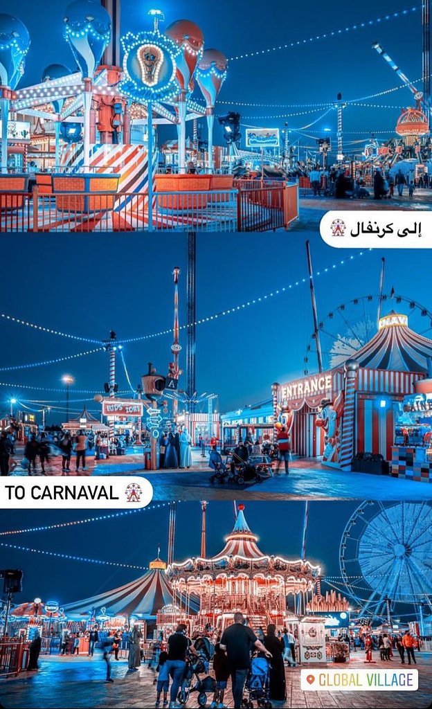 Carnaval ides at Global Village in Dubai by #GVWOW