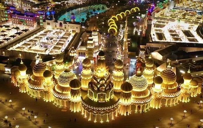 Global Village Aerial View in Dubai by VisaDekho
