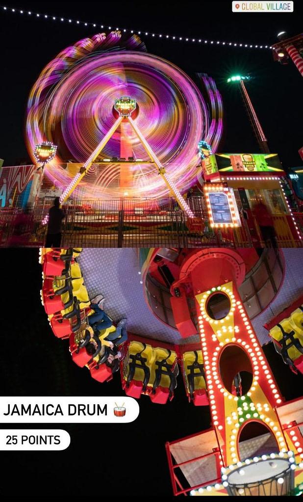 Jamaica Drum Carnaval Ride at Global Village in Dubai by Gloal Village