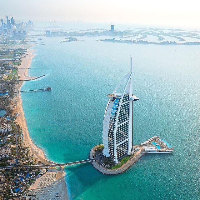Burj al Arab Jumeirah - 7 star hotel in Dubai - Visa dekho
