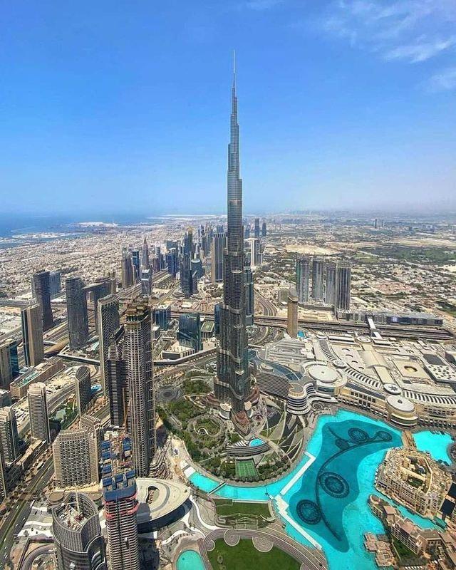 Dubai Burj Khalifa - Visa Dekho