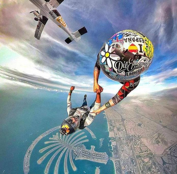 Sky Diving in Dubai - By VisaDekho